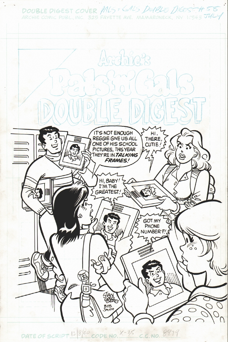 Archie's Pals n Gals Double Digest  #58 Cover